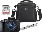 $50 off Canon EOS Rebel T5i 18MP DSLR Camera Kit w/ 18-55mm Lens