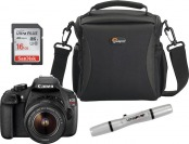 $50 off Canon EOS Rebel T5 18MP DSLR Camera Kit w/ 18-55mm Lens