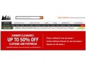 REI Summer Clearance Sale - Up To 50% off Footwear and Clothing