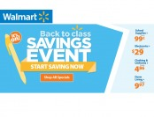 Walmart Back to Class Savings Event - Over 600 Items on Sale