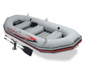 83% off Intex Mariner 4 Inflatable Boat Kit