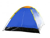 78% off Whetstone Two Person Tent With Carry Bag, Yellow/Blue