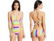 80% off U.S. Polo Assn. Women's Striped Monokini