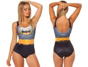66% off RedExtend Batgirl One Piece Swimsuit