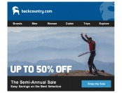 Backcountry Semi-Annual Sale - Save Up to 50% off Tons of Items
