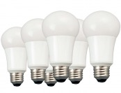 64% off 6-Pack TCP LA1050KND6 LED A19 Daylight Light Bulbs