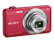 50% off Sony Cyber-Shot DSC-WX80 16.2-MP Digital Camera - Red