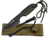 44% off Survivor Outdoor Fixed Blade Knife w/ Fire Starter