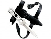 66% off Fury Dive Knife II, Stainless Steel w/ Leg Strap Sheath