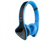 57% off Monster DNA On-Ear Headphones - Black/Laser Blue