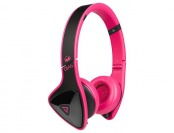 57% off Monster DNA On-Ear Headphones - Black/Laser Pink