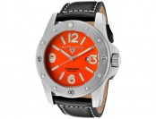 92% off Swiss Legend 20188-06 Conqueror Leather Men's Watch