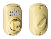 60% off Schlage Plymouth Electronic Keypad Deadbolt