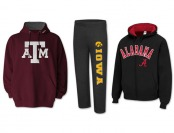 NCAA Hoodies, Sweaters, Pullovers, Sweatpants - 2 For $40