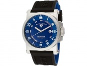 $745 off Swiss Legend Men's Sportiva Blue Textured Watch