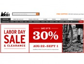 REI Labor Day Sale - Up to 30% off Thousands of Items