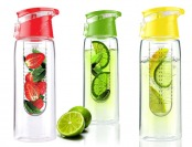 71% off 4-Pack 20-ounce Flavor It 2 Go Water Bottles, 5 Styles