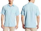 70% off Cubavera Short Sleeve Essential One Pocket Men's Shirt