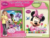 82% off Disney Minnie Mouse My Activity Book and Messenger Bag
