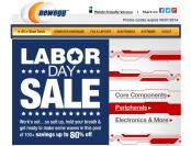 Newegg Labor Day Sale Event - Save Up to 80% off Hundreds of Items