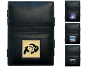 86% off NCAA Jacob's Ladder Leather Wallets, 19 Teams