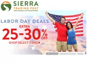Sierra Trading Post Labor Day Deals - Up to an Extra 30% off