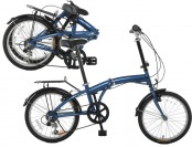 "$300 off Vilano TEMPEST 20"" Folding Bike, Shimano 6 Speed"