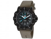 56% off Luminox 8824-MI Recon Black Dial Grey Nylon Men's Watch