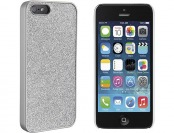 90% off Dynex Silver Glitter Case for Apple iPhone 5 and 5s