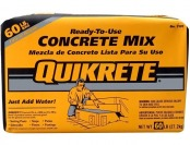 66% off Quikrete 60 lb. Bag of Concrete Mix