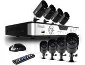 $295 off Zmodo 8-Ch 500GB DVR Security System w/ 8 IR Cameras