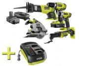 23% off Ryobi 18V 5PC. Cordless P887-P131 Tool Kit w/ Car Charger