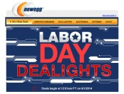 Newegg Labor Day Dealights - 17 Great Deals