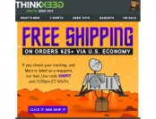 Deal: Free Shipping on Orders $25+ at ThinkGeek.com