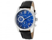 91% off Lucien Piccard Mulhacen Chronograph Leather Men's Watch