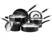 61% off Rachael Ray Stainless Steel II Colors 10-Piece Cookware Set