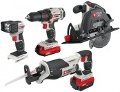 48% off Porter-Cable 20V Max Lithium Ion 4-Tool Combo Kit