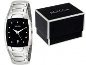 $180 off Bulova Men's 96G46 Stainless Steel Watch