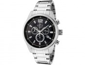 89% off Invicta 0790 II Collection Chronograph Stainless Steel Watch