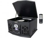 $246 off Pyle Vintage Turntable, AM/FM, CD/Cassette/USB/SD