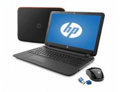 "HP 15-f059wm 15.6"" Laptop w/ Mouse, Case, Flash Drive & Antivirus"