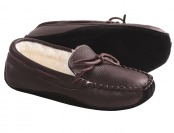 69% off Acorn Bison Men's Leather Slippers, 2 Styles