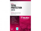 83% off McAfee Total Protection 2014 Software for 3 PCs