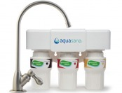 $114 off Aquasana 3-Stage Under Counter Water Filter System