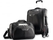 62% off Samsonite Elite Spinner & Laptop Boarding Bag Set Exclusive