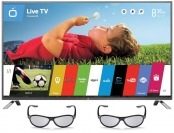 "31% off 60"" LG 60LB7100 1080p 3D Smart LED HDTV w/ 3D Glasses"