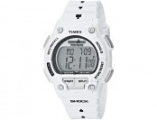 42% off Timex Men's T5K429 Ironman Watch w/ White Resin Band
