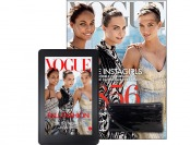95% off One Year of Vogue Magazine plus a Free Clutch