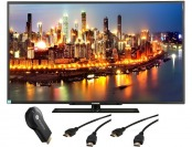 "$93 off Changhong 50"" 1080p HDTV + Google Chromecast + Cables"