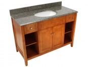 "64% off Foremost Exhibit 49"" x 22"" Granite Top Vanity TRIAQD4922"